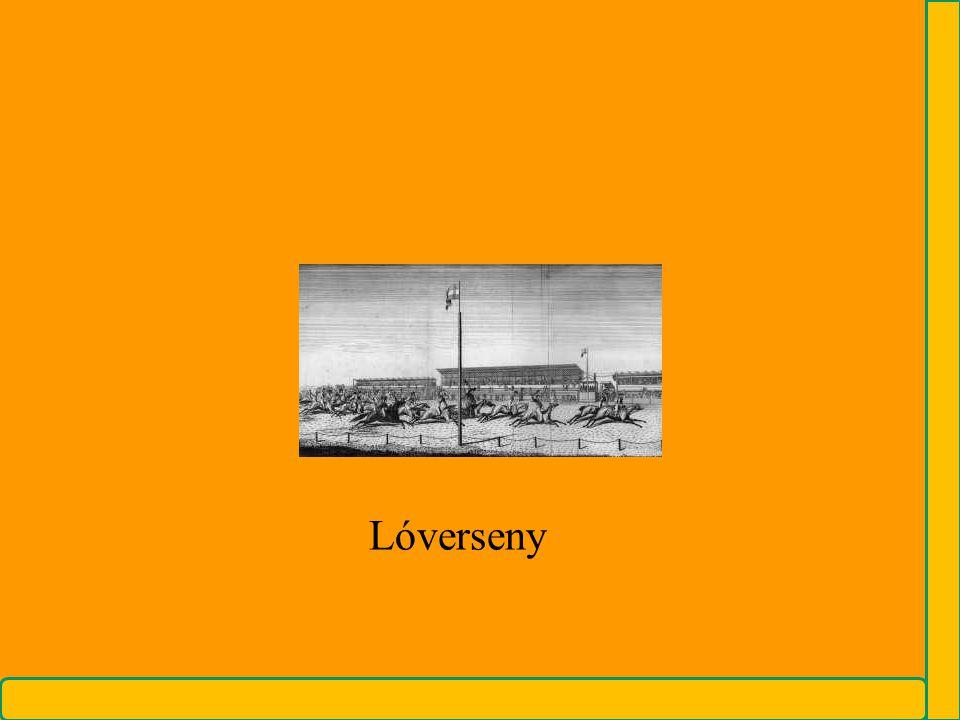 ….mikor az 1810-es években, gróf Széchenyi Istvánban a lóversenyzés magyarországi meghonosításának gondolata felötlött, elsősorban nem szórakoztató jellegét tartotta szem előtt. Sokkal magasztosabb cél megvalósításának: az ország modernizálásának, a nemzet felemelésének egyik eszközét látta benne. A futtatások társaséleti összekötő szerepét tartotta fontosnak: a rendes pesti összejövetelek által hazánk lakosai is egymással bővebben megismerkednek s így olyan tárgyak kifejlődését segíthetik, melyek hazánk díszét fogják maguk után vonni. Mert a hol egyetértés és együtt fáradozás által, földművelés, kereskedelem előmozdíttatik és ezáltal a polgári erények napról-napra tökéletesebben kifejlődnek, ott boldogabb a haza. [1]